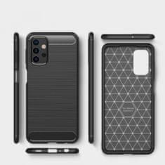 Ovitek za Samsung Galaxy A32 A325 LTE, silikonski, mat karbon črn