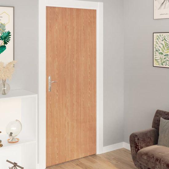 shumee Okleina samoprzylepna na drzwi, 2 szt., klon, 210x90 cm, PVC
