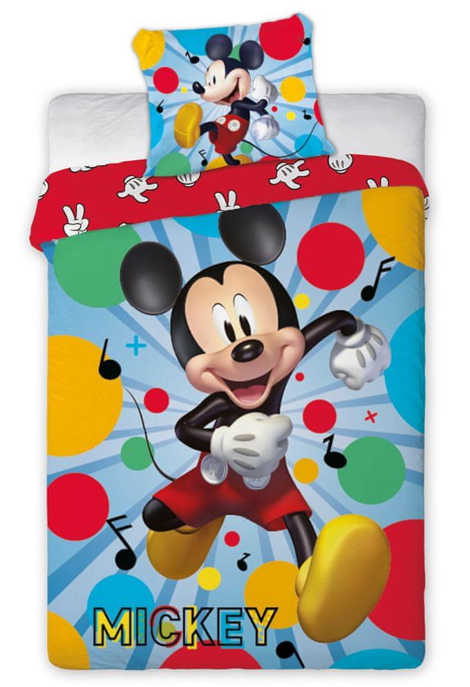 Faro Dětské povlečení Mickey Mouse Taneční Párty