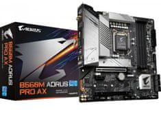 Gigabyte B560M Aorus Pro AX (rev. 1.0) osnovna plošča, LGA1200, Wi-Fi 6, Micro ATX