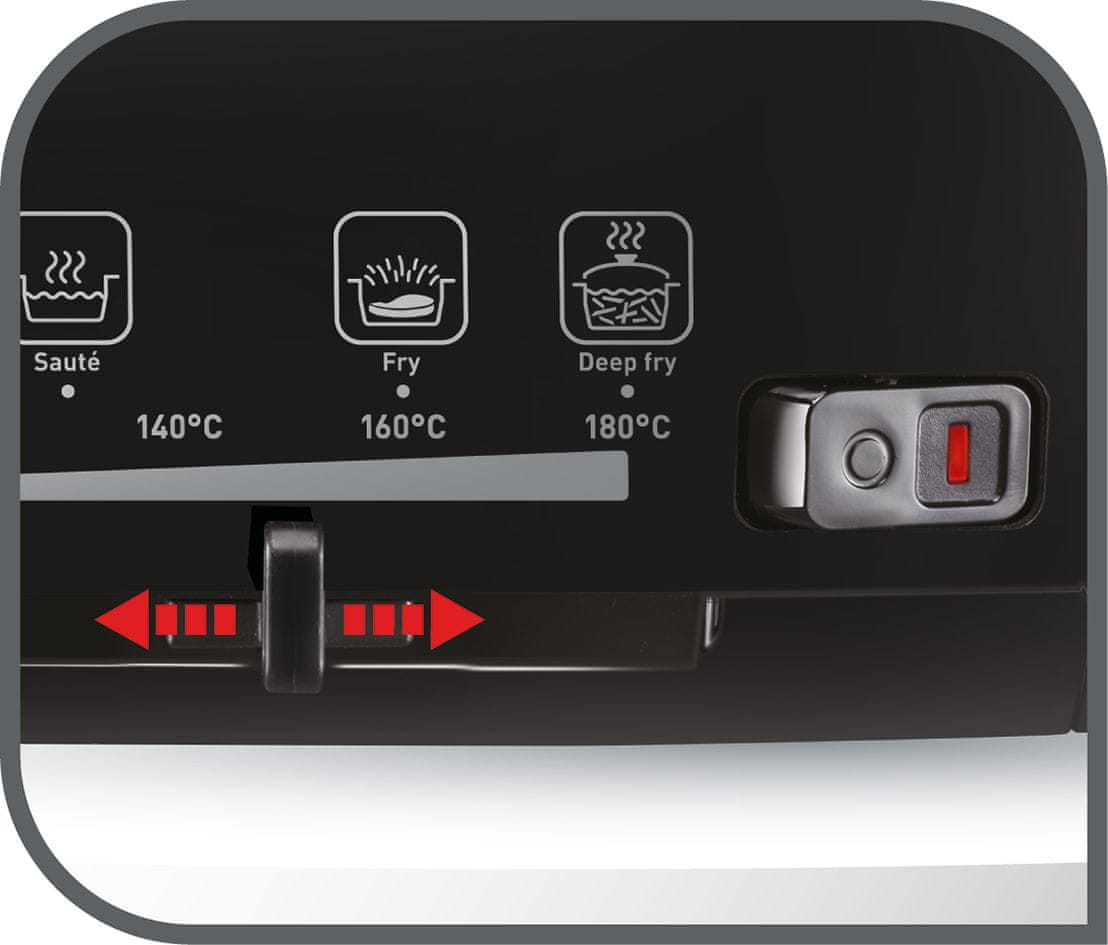 Tefal Versalio De Luxe 7v1 FR491870 nastavitelný termostat