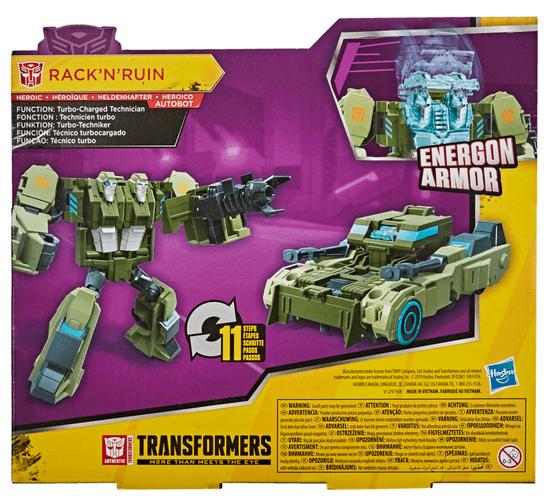 Transformers Cyberverse Ultra figura Rack n Ruin