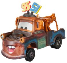 Mattel samochód duży Auta 3 Złomek Team 95 i 51
