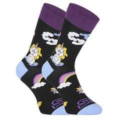 Styx Veselé ponožky vysoké Unicorn (H1158) - velikost XL