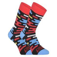 Styx Veselé ponožky vysoké Flat (H1154) - velikost XL