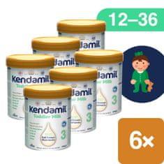 Kendamil batolecí mléko 3 DHA+ 6x 800 g