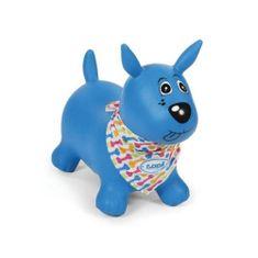 Ludi Skákací pes modrý