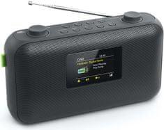 Muse M-118DB, DAB + / FM rádio, černá