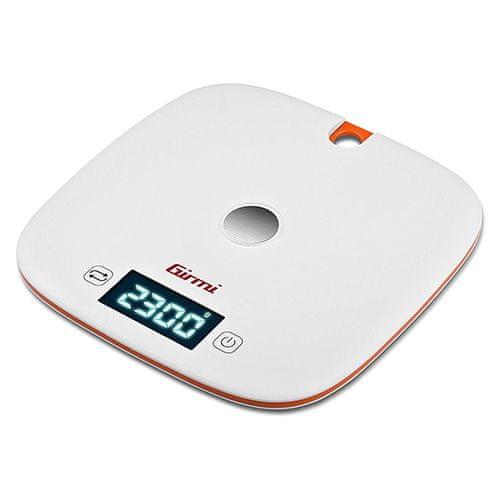 Girmi Bilancia Cucina Elettronica 1GR / 5kg, Bilancia Cucina Elettronica 1GR / 5kg