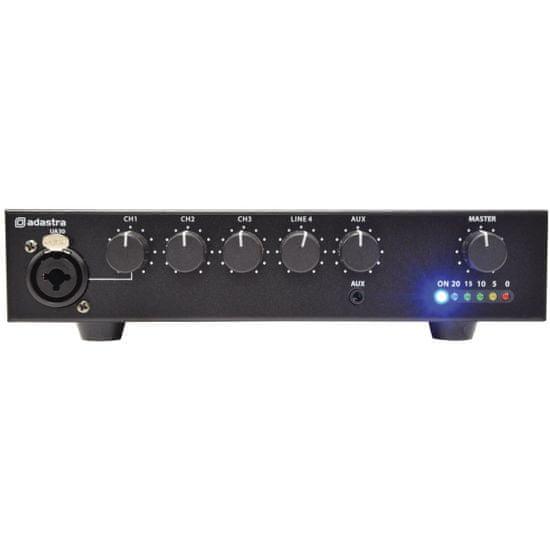 Adastra UA30, 100V mixážní zesilovač, 30W
