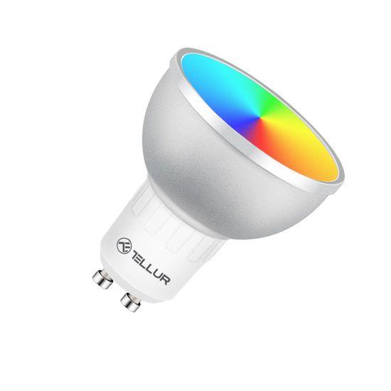Tellur WIFI pametna žarulja GU10, 5W, RGB