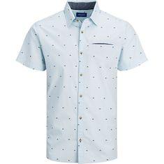 Jack&Jones JORSOLAR Slim Fit moška srajca Blue (Velikost S)