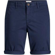 Jack&Jones Moške kratke hlače JJIBOWIE 12165604 Navy Blaze r (Velikost S)