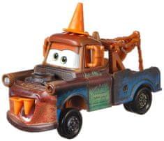Mattel samochód duży Auta 3 Złomek z pachołkiem drogowym