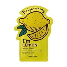 Tony Moly Rozjasňujúci plátýnková maska I`m Lemon (Brightening Mask Sheet) 21 ml