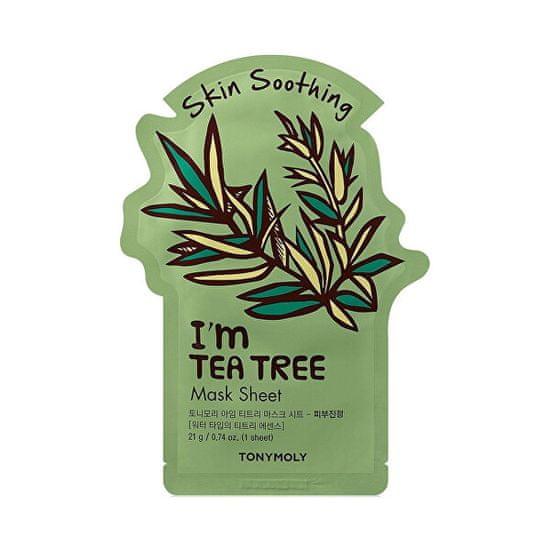 Tony Moly Upokojujúce plátýnková maska I`m Tea Tree (Skin Soothing Mask Sheet) 21 ml