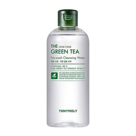 Tony Moly Hydratačná pleťová voda The Chok Chok Green Tea (No-wash Clean sing Water) 300 ml