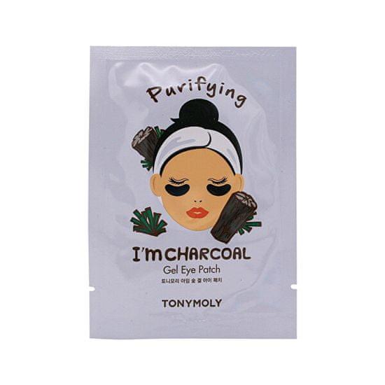 Tony Moly Čistiace gélové vankúšiky pod oči I`m Charcoal (Purifying Eye Patch) 21 ml