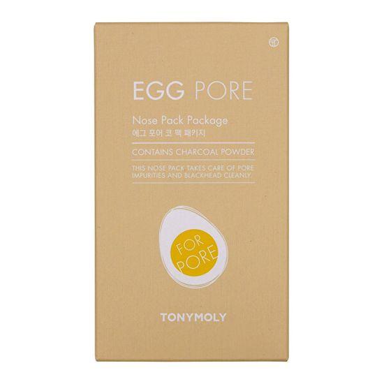Tony Moly Náplasť na nos proti čiernym bodkám Egg Pore (Nose Pack Package) 1 ks