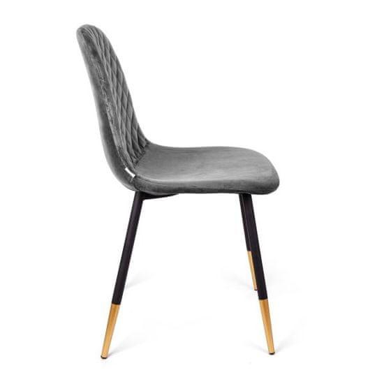 shumee NOIR Chair šedá 44x52x85cm
