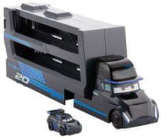 Mattel samochodzik Cars 3 Mini ciężarówka Gale Beaufort i Jackson Sztorm