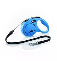 shumee Flexi avtomatski pasji povodec z vrvjo nova klasična m 5 m modra
