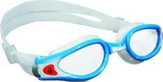 Aqua Sphere Brýle plavecké KAIMAN EXO SMALL Aquasphere, čirý-světle modrá/bílá