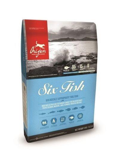 shumee Orijen 6 Fish Dog 2 kg - sucha karma dla psów z rybą 2kg