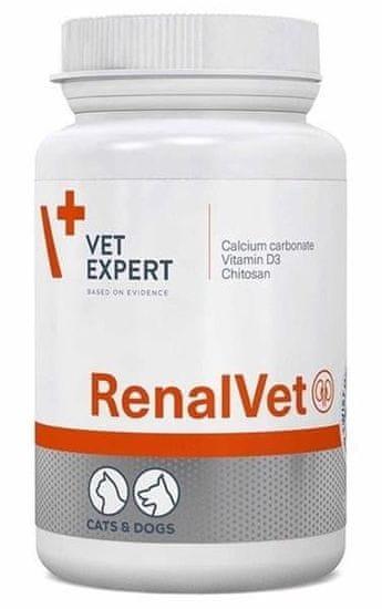 shumee VETEXPERT RenalVet 60 kapsúl - prípravok pre psy a mačky s príznakmi chronického zlyhania obličiek