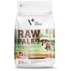 shumee Vet Expert Raw Paleo srednje velik psiček Turčija 2,5 kg - suha hrana za mladičke srednje pasme puran 2,5 kg