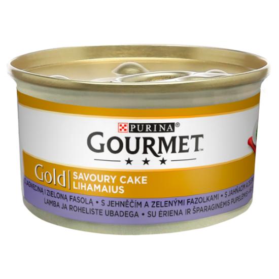shumee Purina Gourmet Gold Savoury Cake Jagnięcina/Zielona Fasola 85g 12351060