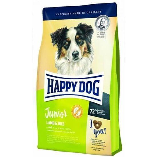 shumee Happy Dog Junior jagnięcina i ryż 10 kg - sucha karma dla młodych psów z jagnięciną i ryżem 10 kg