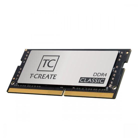 TeamGroup T-CREATE memorija (RAM), 16 GB, DDR4, 3200 MHz, CL22 (TTCCD416G3200HC22-S01)