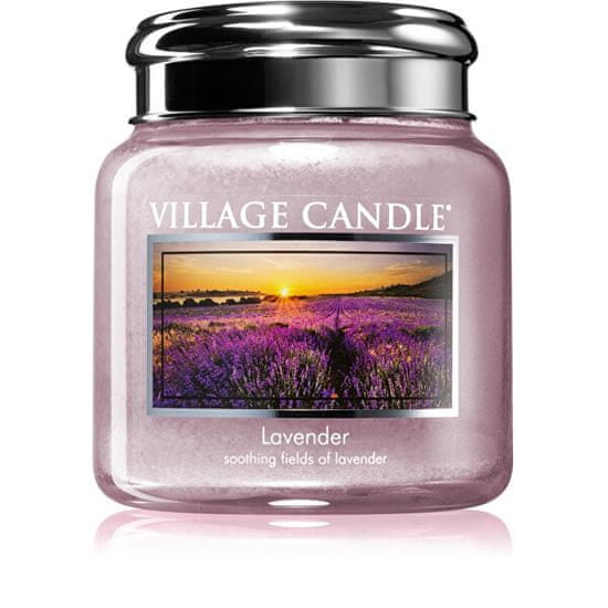 Village Candle Vonná sviečka v skle Lavender 390 g