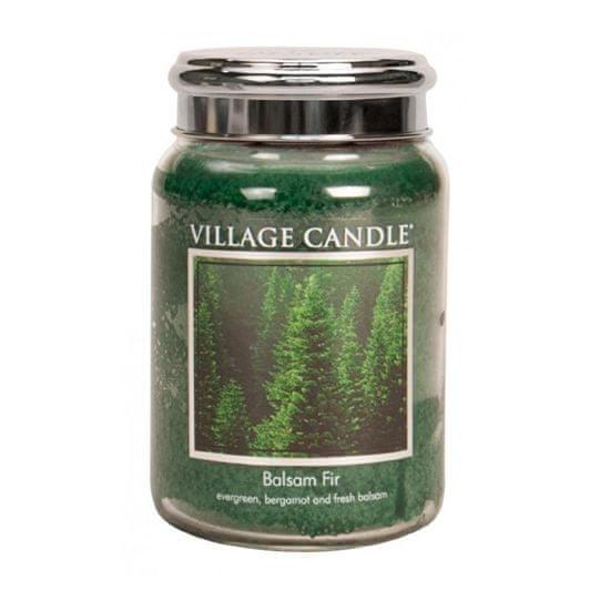 Village Candle Vonná sviečka v skle Balsam Fir 397 g