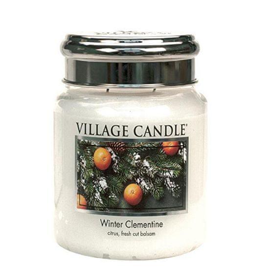 Village Candle Świeca zapachowa w szkle Winter Clementine 390 g