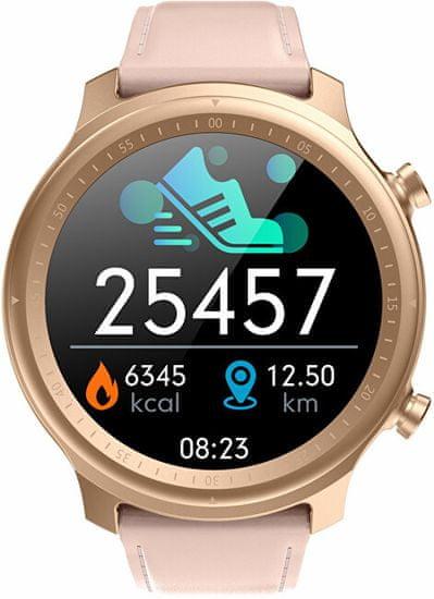Wotchi Smartwatch W31PL - Pink Leather