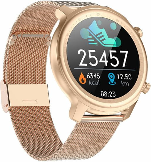 Wotchi Smartwatch W27RG - Rose-Gold Stainless Steel