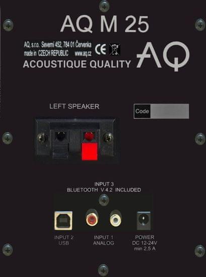 AQ głośniki M25