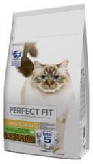 Perfect fit Granule morčacie pre dospelé mačky s citlivým trávením 7kg