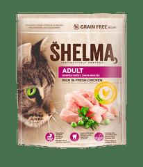 SHELMA Granule Freshmeat Adult kuřecí 2*750g