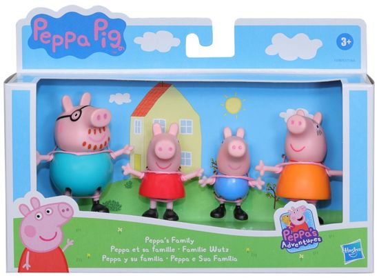 HASBRO Peppa Pig családi figurák