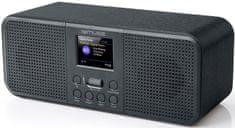 Muse M-122DBT, přenosné rádio s DAB a BT, černá