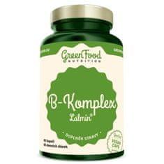 GreenFood B-komplex lalmin - 60 kapslí