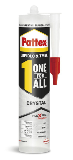 Pattex  Lepidlo one for all crystal 290g
