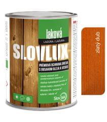 SLOVLAK Slovlux Laková lazúra 0025 Zlatý dub 2,5L