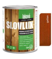 SLOVLAK Slovlux Laková lazúra 0020 Gaštan 5L