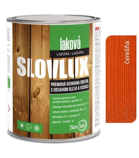 SLOVLAK Slovlux Laková lazúra 0065 Čerešňa 2,5L