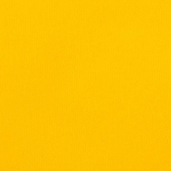 shumee sárga trapéz alakú oxford szövet napvitorla 3/4 x 3 m