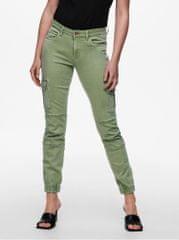 ONLY světle zelené skinny fit džíny Missouri S